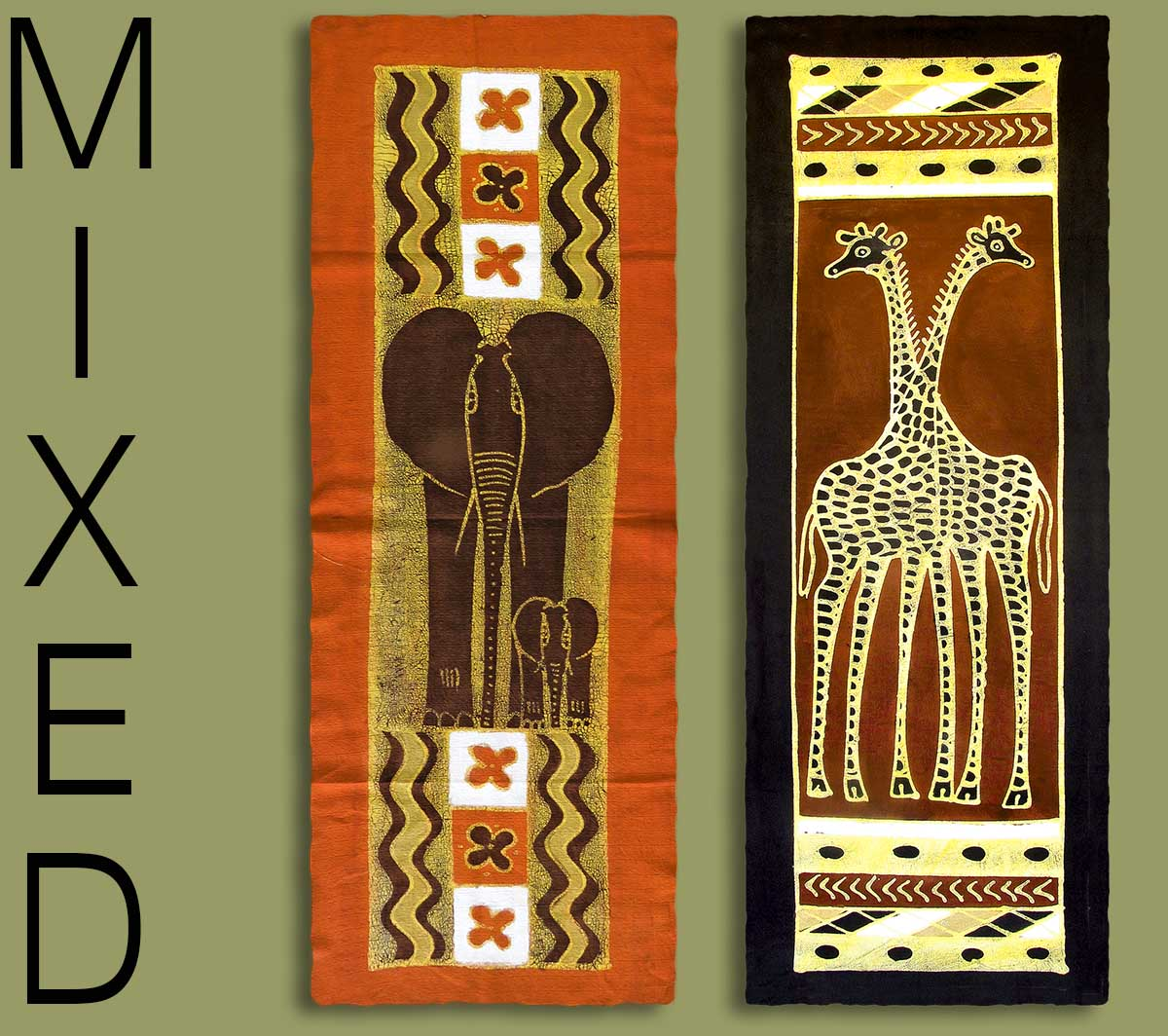 Superieur African Table Runners Mixed