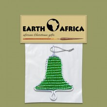 1X-african-beaded-christmas-bell-green4