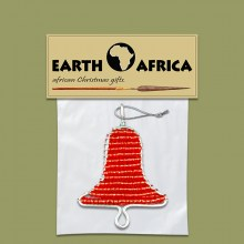 1X-african-beaded-christmas-bell-red