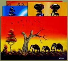 African Art MIXED