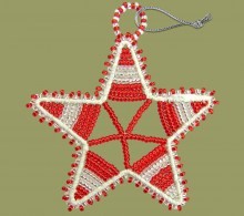 african-beaded-christmas-star-red-silver