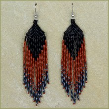 Traditional African Beaded Earrings | ZULU AFRICAN BEADWORK