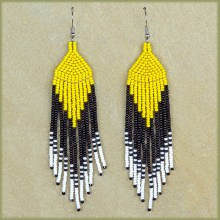 Zulu Beaded Earrings | AFRICAN BEADED JEWELRY