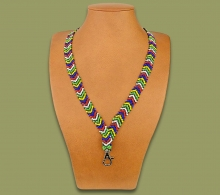 Beaded Lanyards African Thin Arrow
