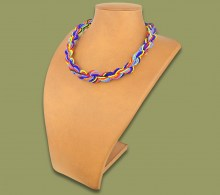 African Beaded Necklace Khanyo Zulu Colours