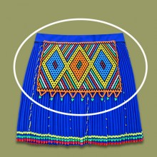 African Beaded Apron | Chest Piece