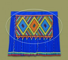 Zulu Womans Beaded Skirt Overlay / Chest Piece