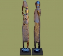 African Statues Wood