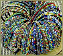 Beaded Alice Bands Mixed Thin