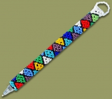 Beaded Pen Zulu Diamond