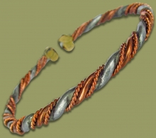 African Copper Bracelet Style.1