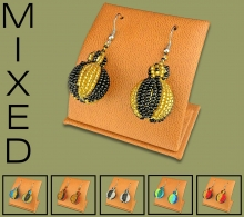Mixed Bobble Earrings