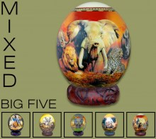 MIXED Big Five Ostrich Eggs
