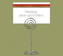 Wire Table Place Card Holder Wedding