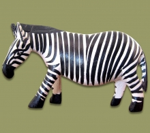 Zebra Wood Carved Medium