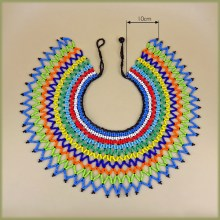 Zulu Beaded Lace Necklace Large