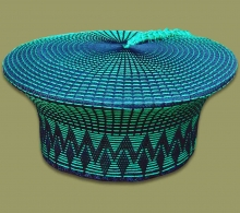Zulu Hat Black Green