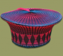 Zulu Hat Black Red