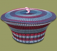 Zulu Hat Red White Black