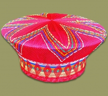 Zulu Hat Traditional	Red