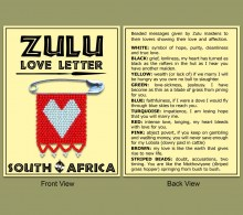 Zulu Love Letter Wholesale Supplier - Earth Africa Curio