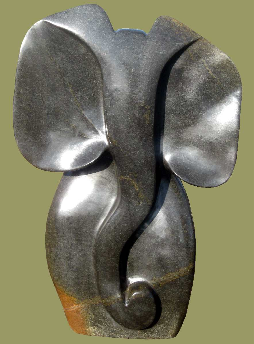 Shona Sculpture Elephant