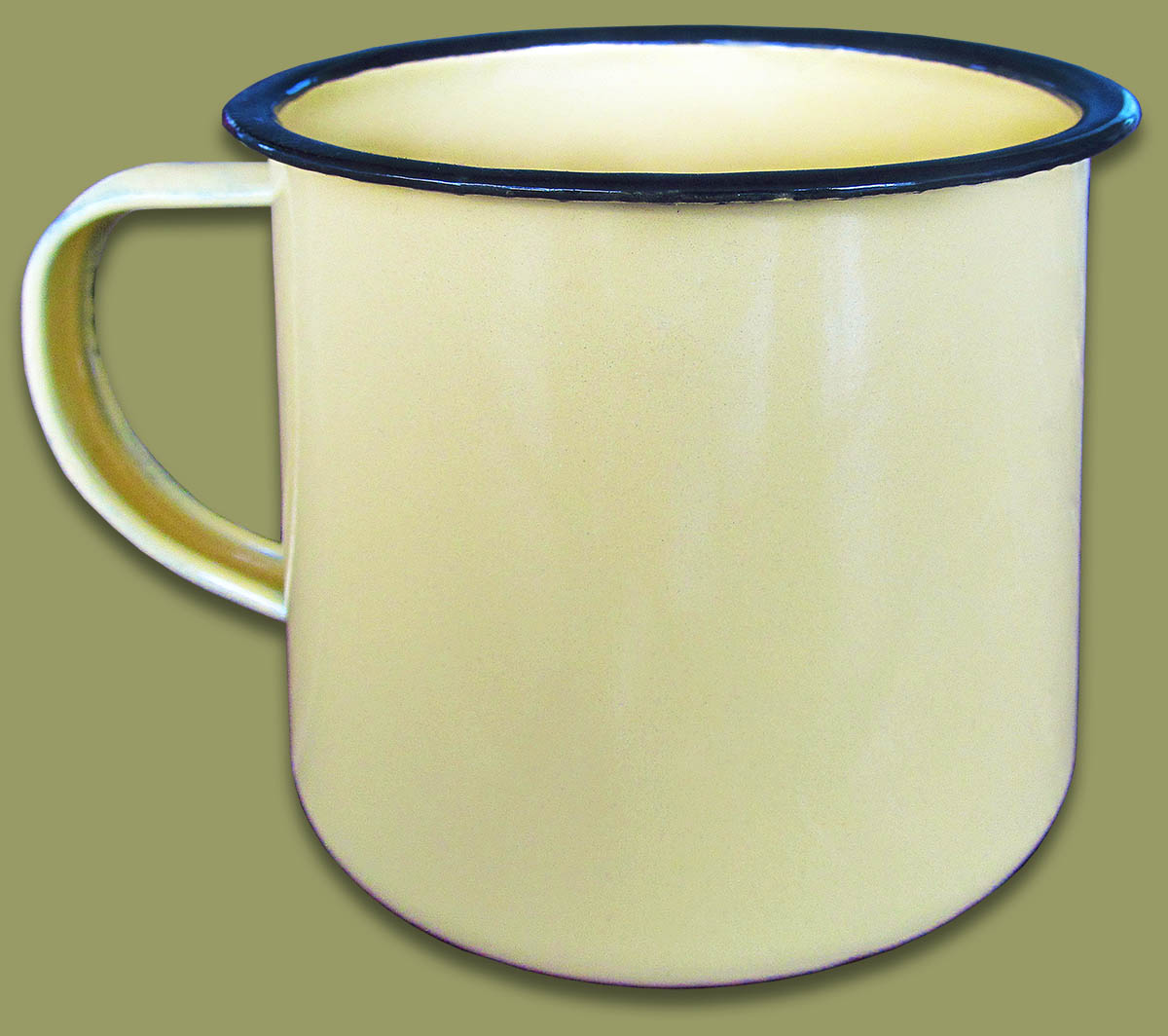 Enamel Tin Mug Large