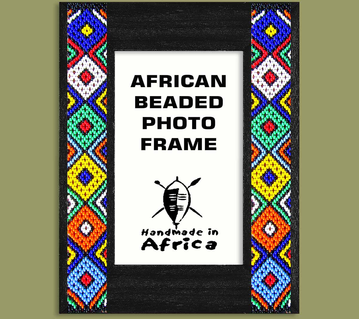 Beaded Photo Frame - Wholesale Suppliers - Earth Africa